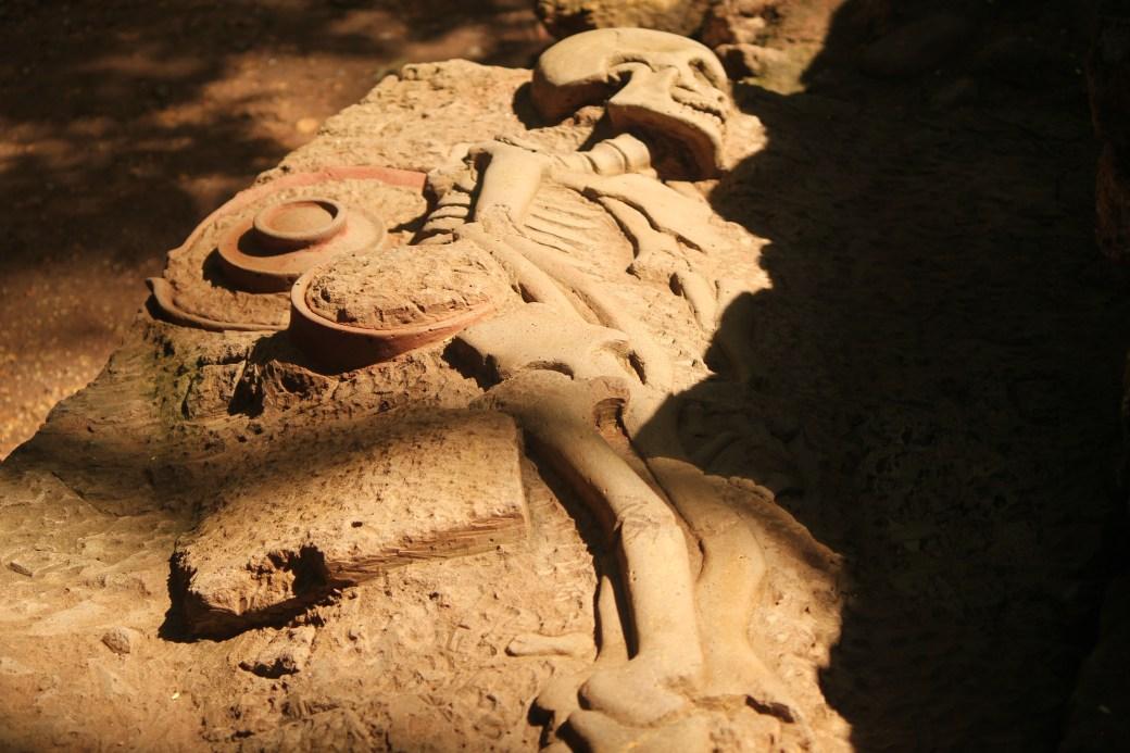 Skeletal Remains; Copan, Honduras; 2013