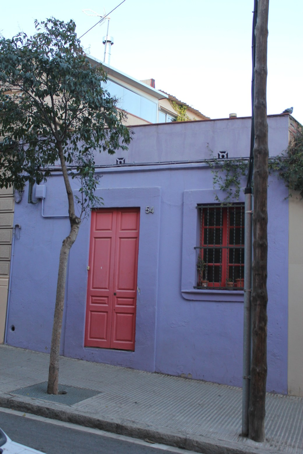 Purple House; Barcelona, Spain; 2012