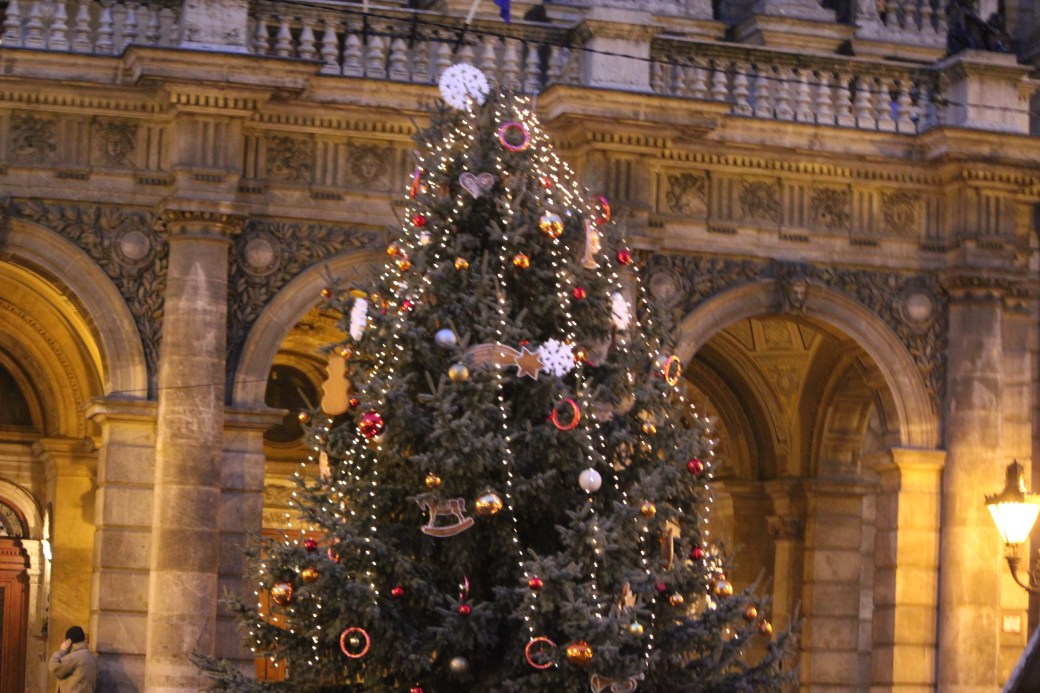 Downtown Christmas Tree; Budapest, Hungary; 2011