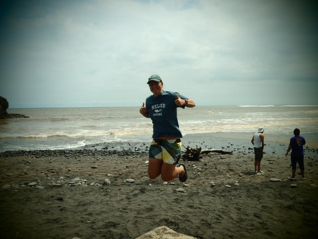 Signature Jumpin' Photograph; El Tunco, El Salvador; 2013