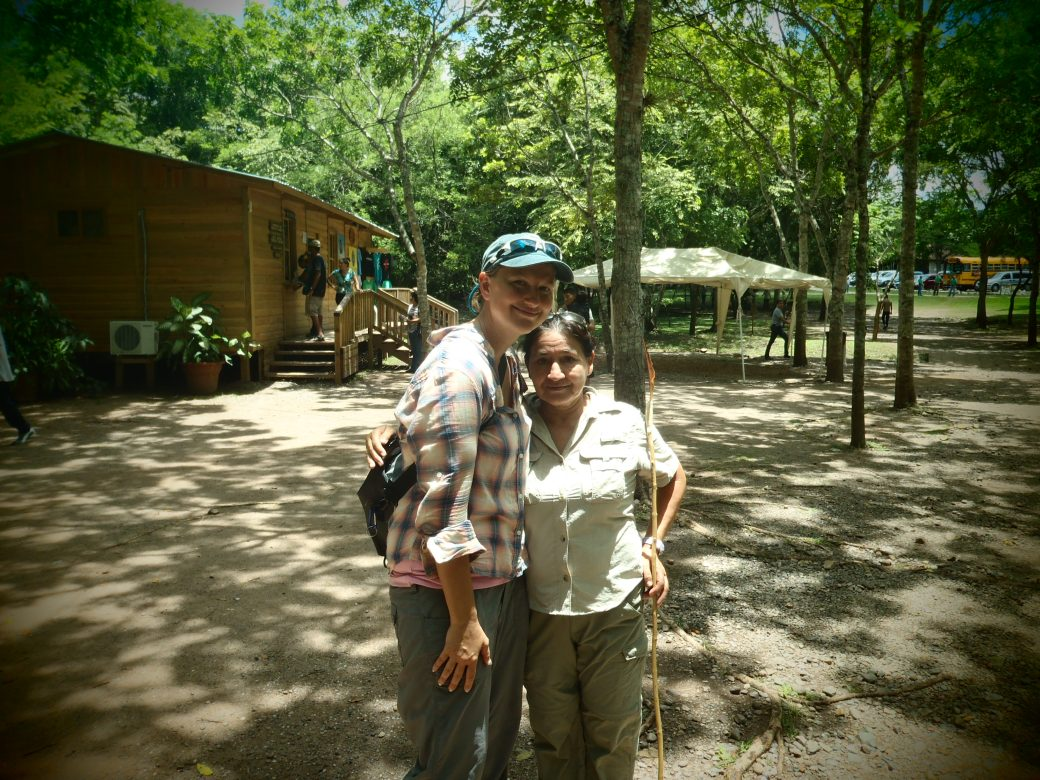 My Tour Guide and I; Copan, Honduras; 2013