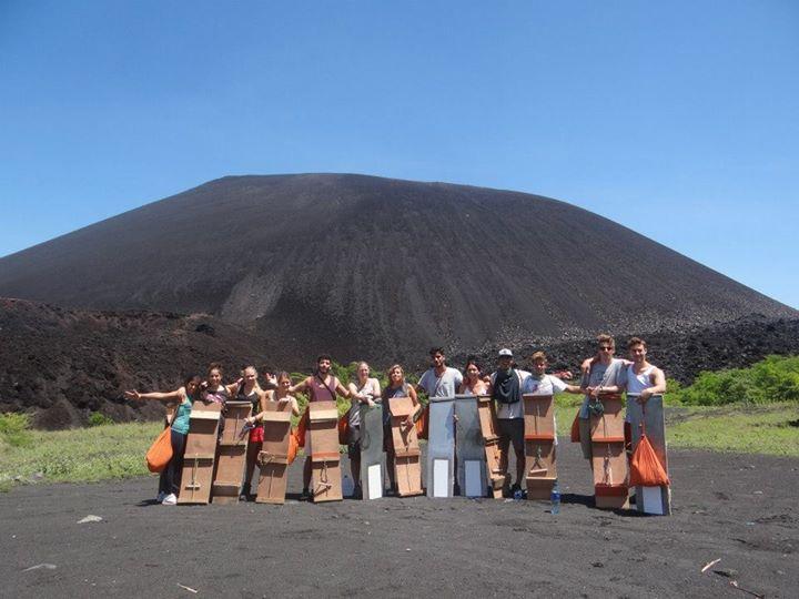 Volcano Boarders; Nicaragua; 2013