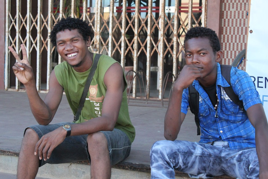 Happy Teens; Toliara, Republic of Madagascar; 2013