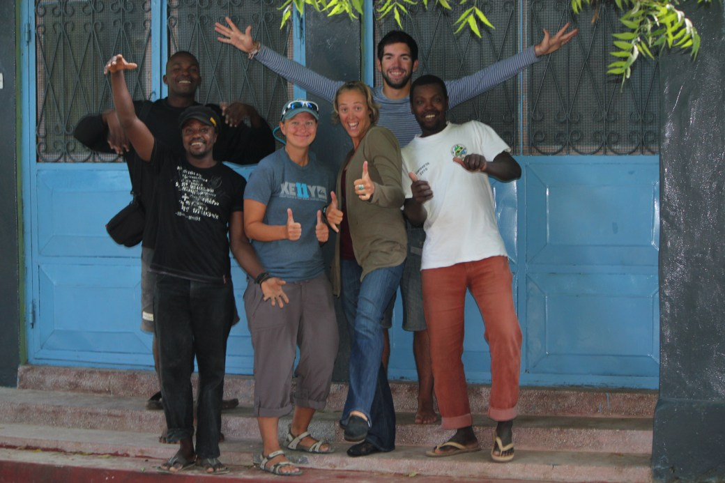 The Humpback Whale Research House and Part of the Team; Kizimakzi Dimbani, Zanzibar, Tanzania; 2012