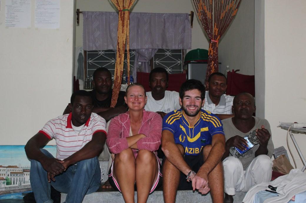 Good Mates and I; Kizimaki Dibani, Zanzibar, Tanzania; 2012