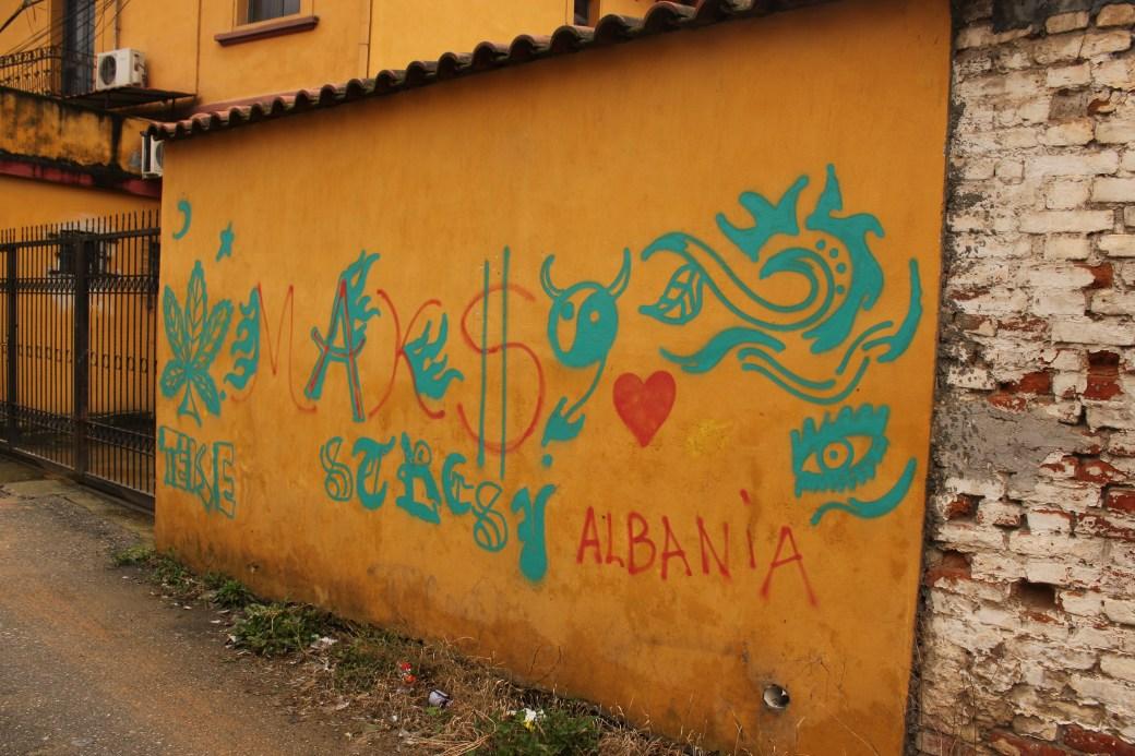 Albania Graffiti; Tirana, Albania; 2013