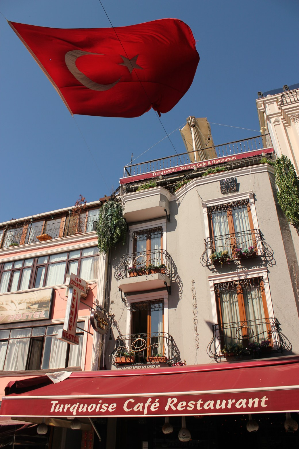 Turkish Flag; Istanbul, Turkey; 2013