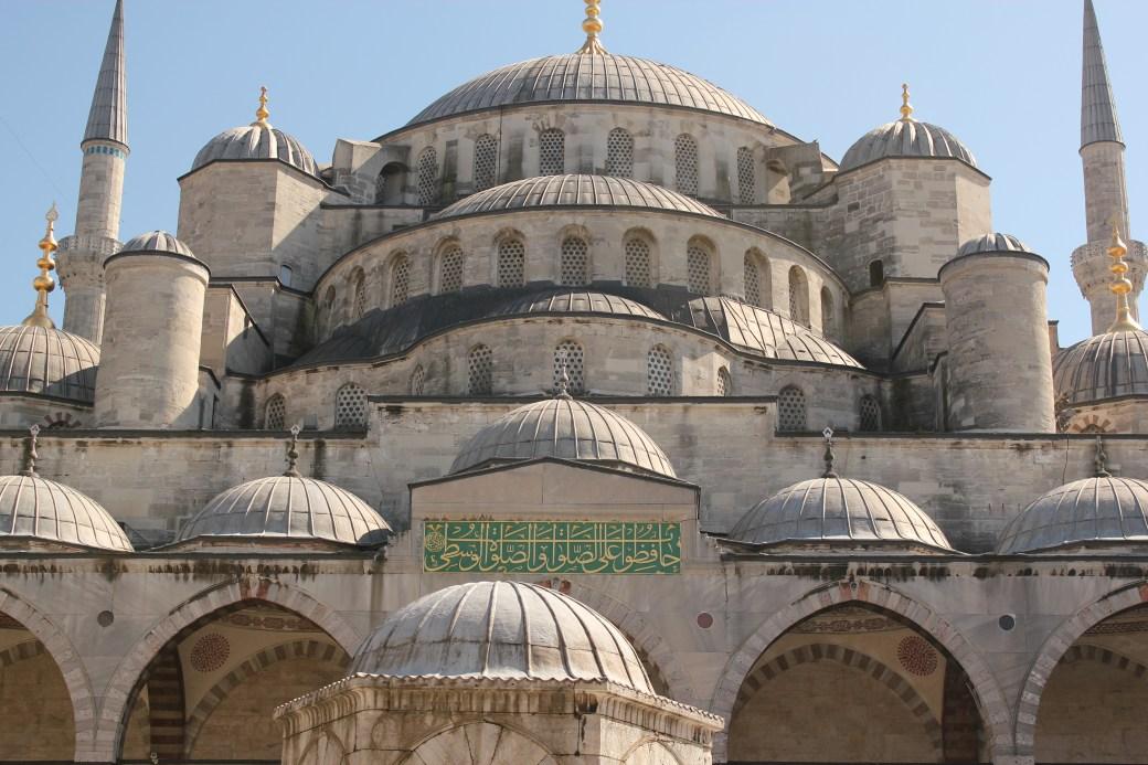 Blue Mosque; Istanbul, Turkey; 2013