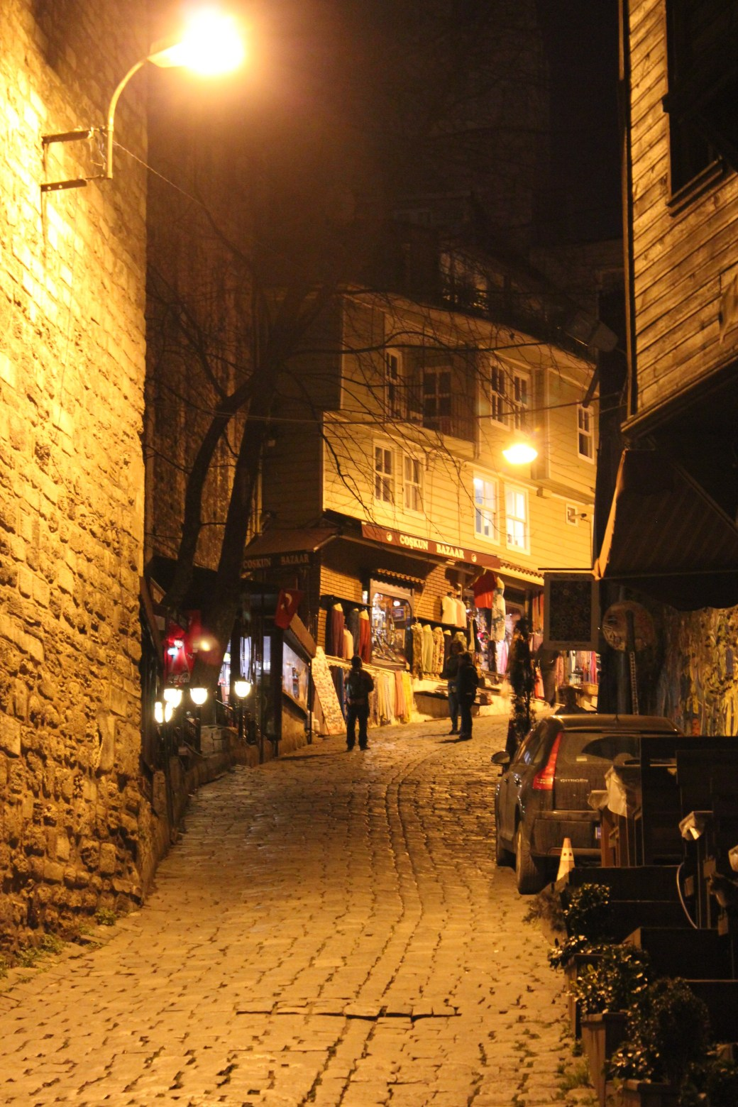 Lit Pathways; Istanbul, Turkey; 2013