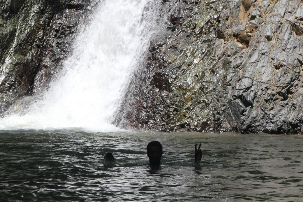 Water Ending; Argyle Waterfalls & Nature Park, Tobago; 2011