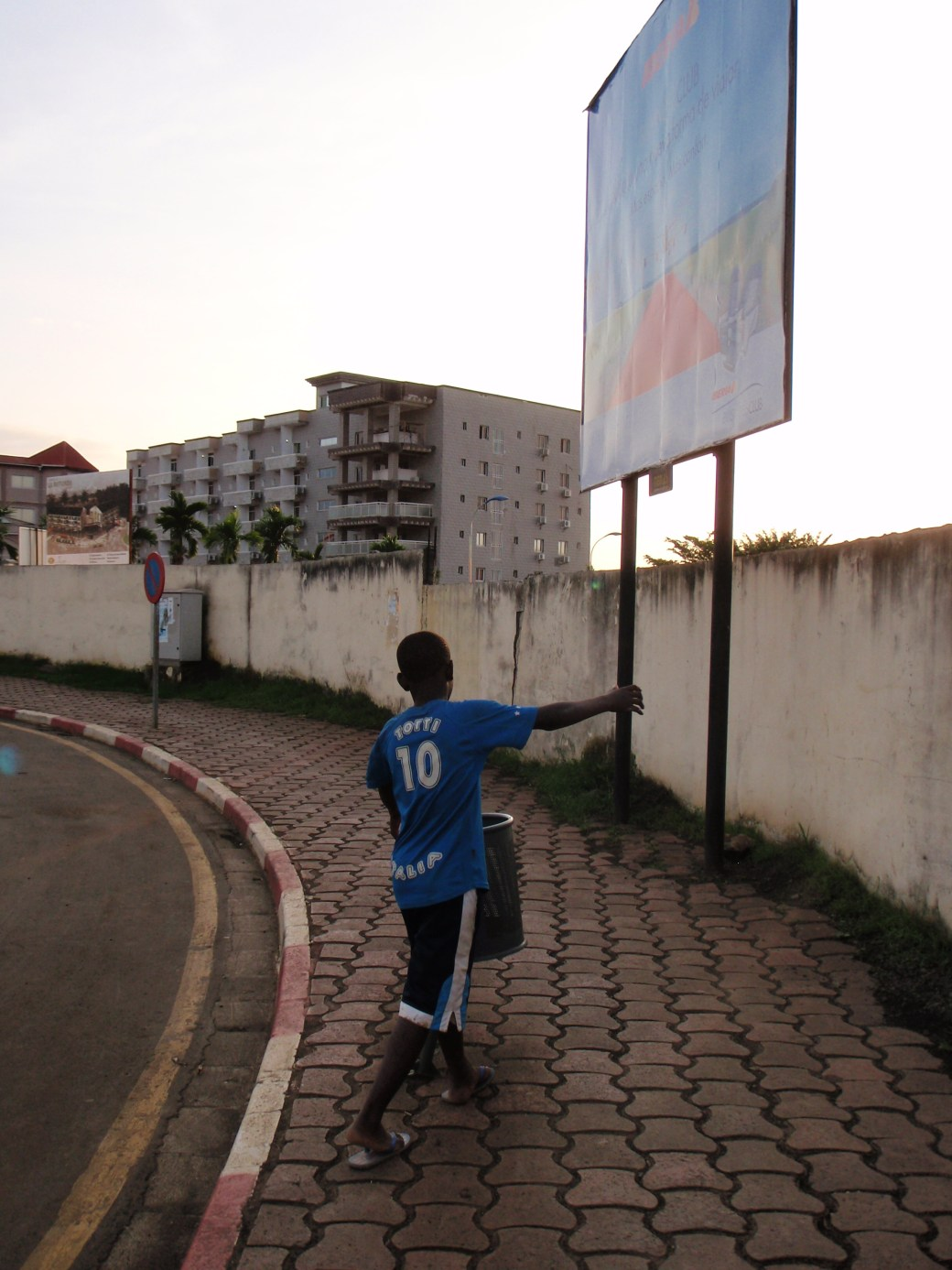 Boy in the Street; Malabo, Equatorial Guinea; 2010