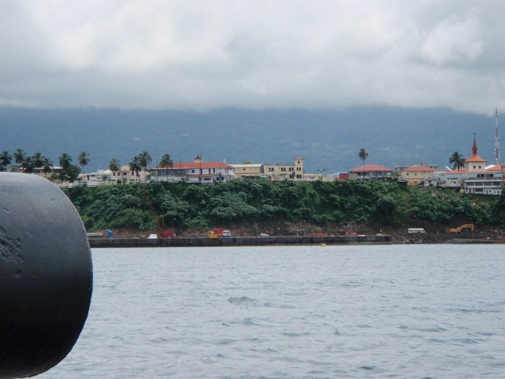 Coastal View; Malabo, Equatorial Guinea; 2010