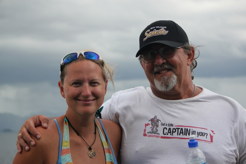 Mike and I; Ferry to Tobago; 2011