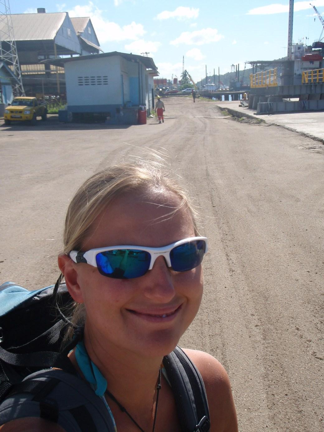 Fresh Off the Geo Searcher; Trinidad; 2011