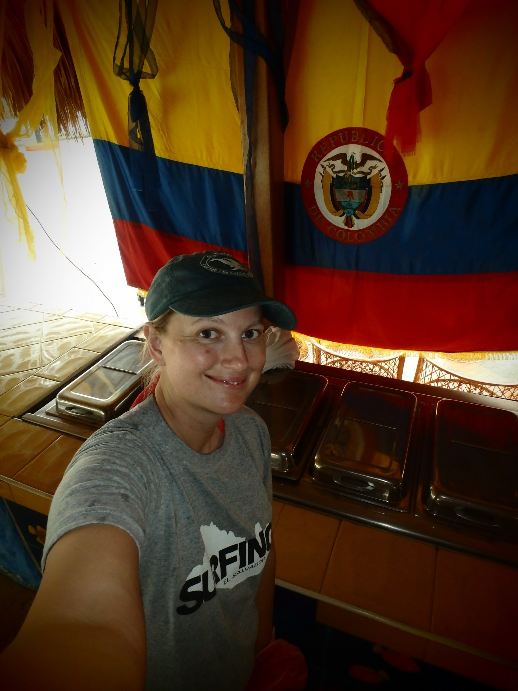 The Colombian Flag and I; Santa Marta, Colombia; 2014