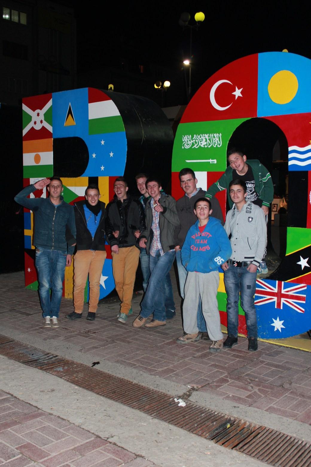 Newborn Friends; Pristina, Kosovo; 2013