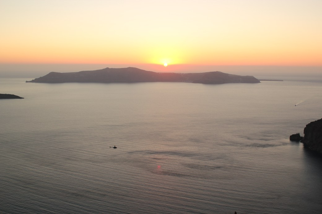 Sunset; Santorini Island, Greece; 2013