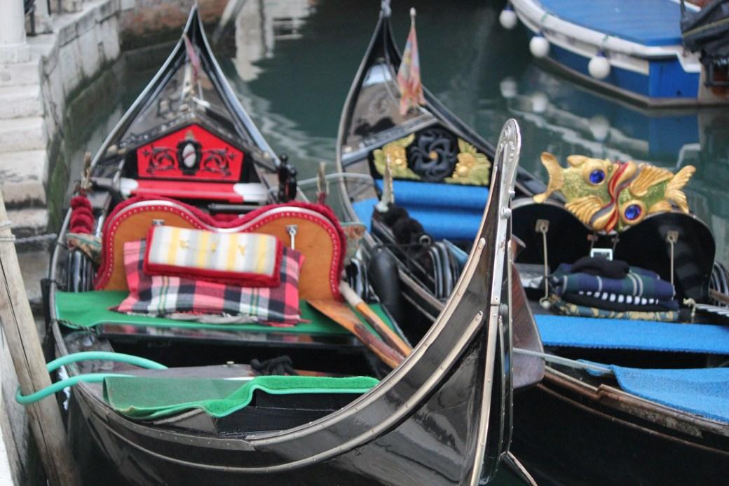 Duo Gondolas; Venice, Italy; 2011
