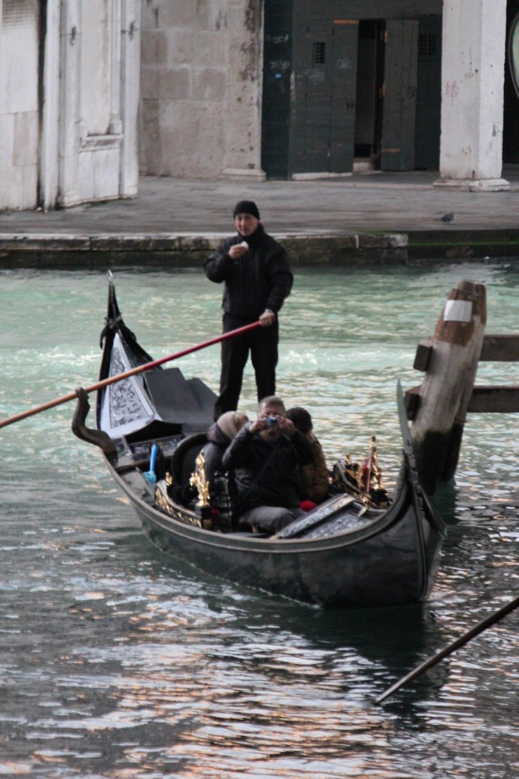 Gondola Driver; Venice, Italy; 2011