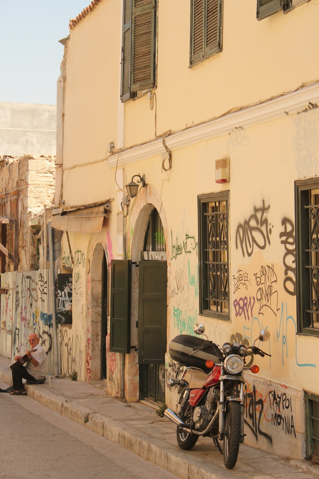 Unique Location; Athens, Greece; 2013