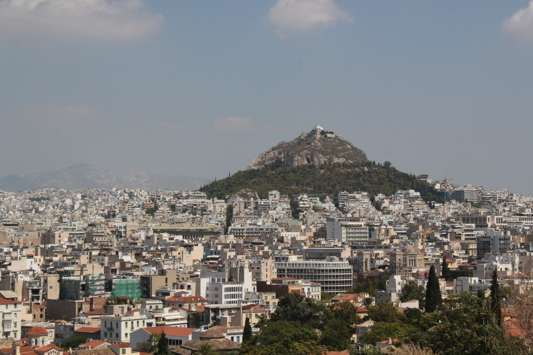 Cityscape; Athens, Greece; 2013