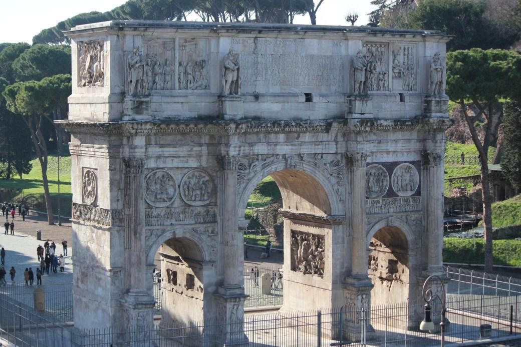 Ruins; Rome, Italy; 2011