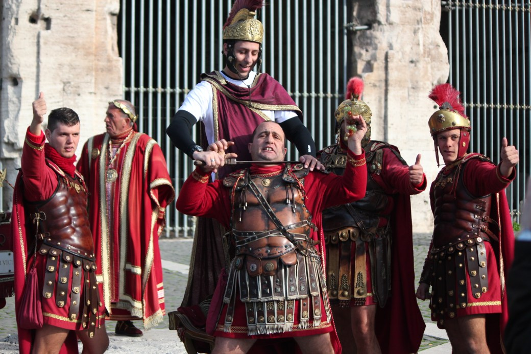 Vikings ; Rome, Italy; 2011