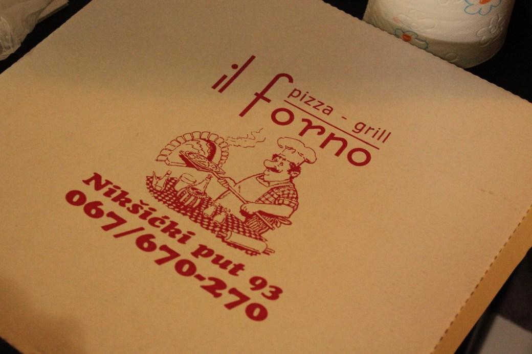 Pizza Delivery; Podgorica, Montenegro; 2013