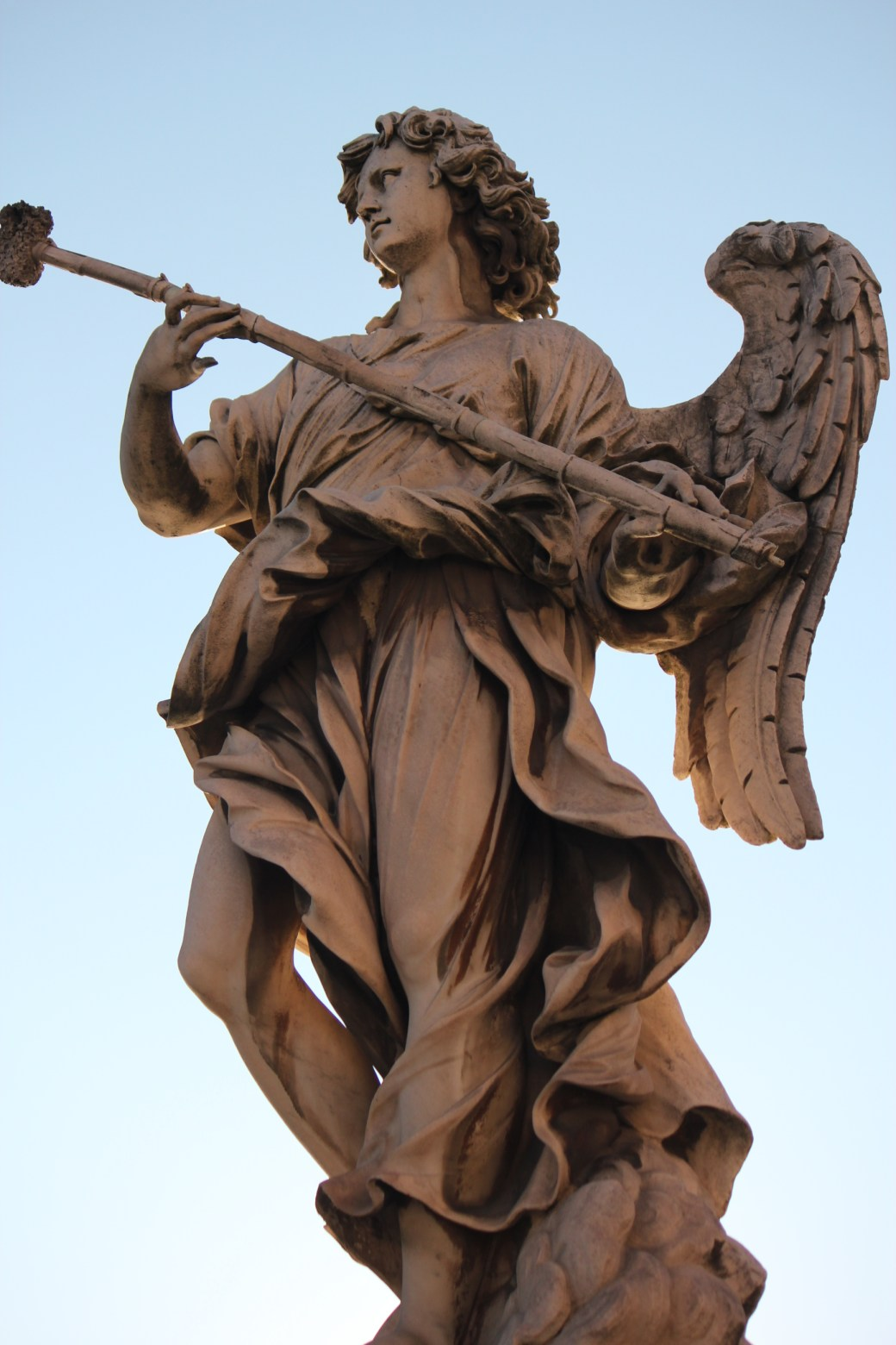 Angel Statue; Rome, Italy; 2011