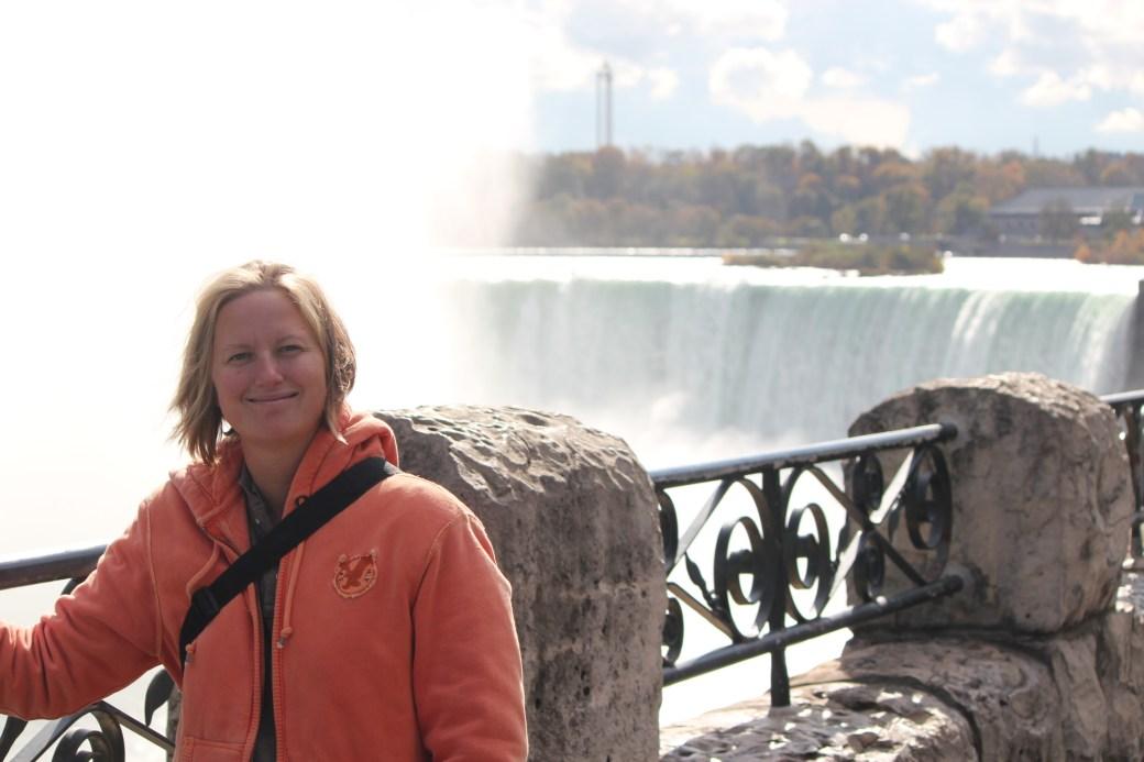 In Front of Niagara Falls; Niagara Falls, Canada; 2011