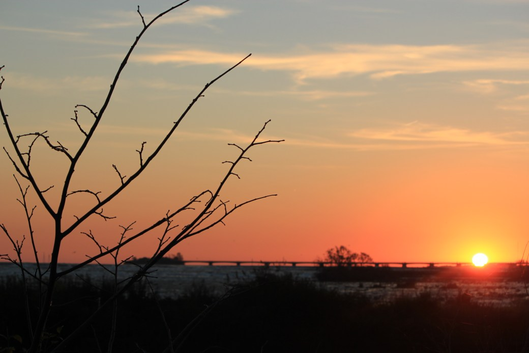 Sunset over Niagara Falls; Niagara Falls, Canada; 2011