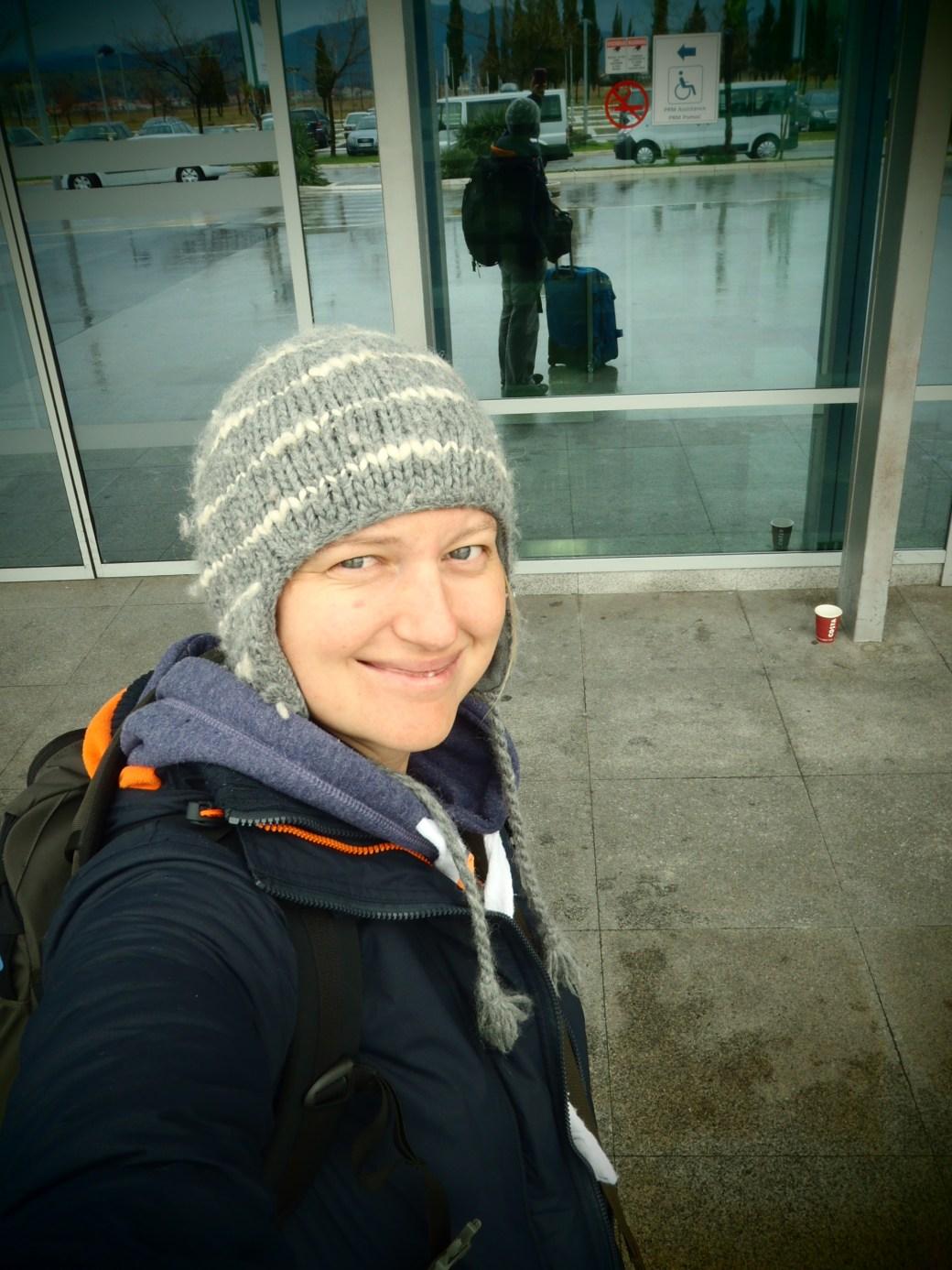Selfie Airport; Podgorica, Montenegro; 2013