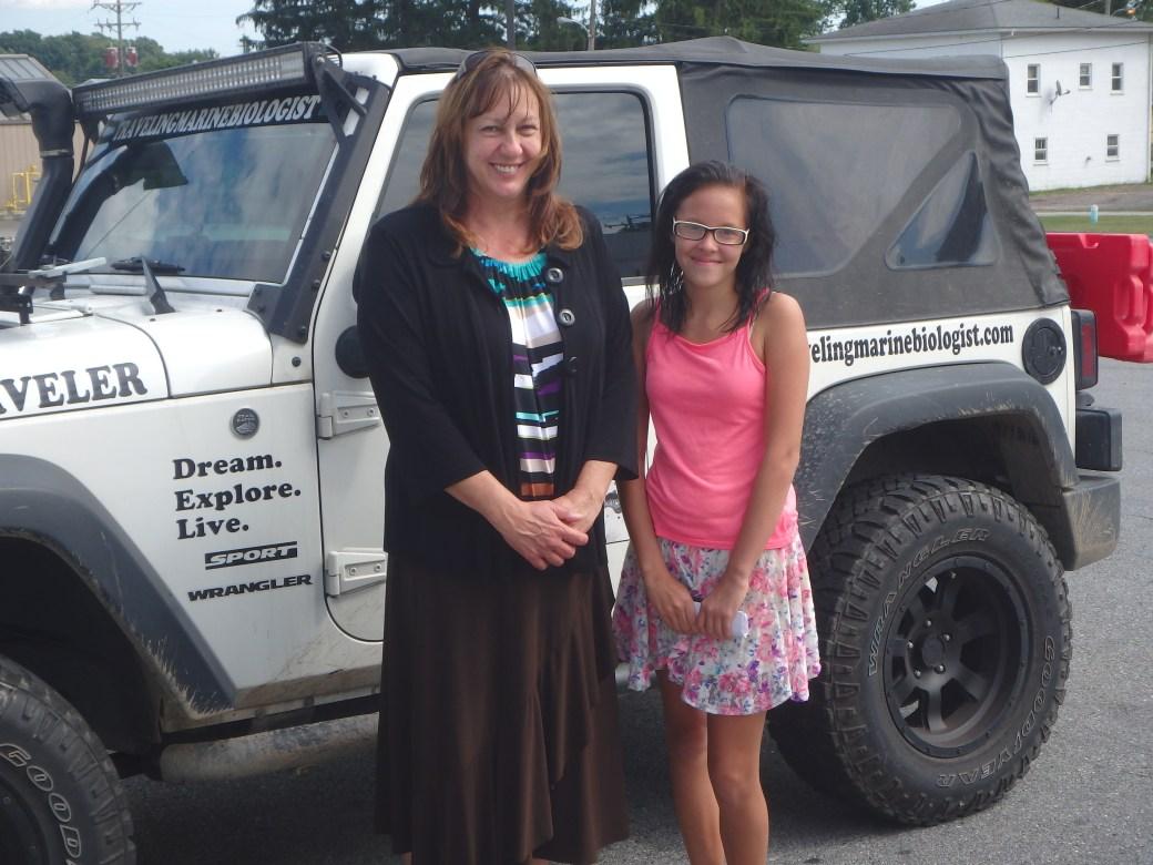 Pastor Kathy & Miranda; Somerset, PA; 2015