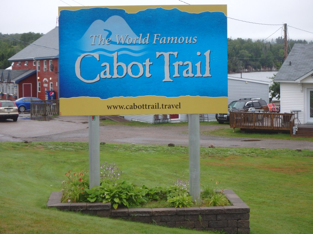 The Introduction into the Cabot Trail; Nova Scotia; 2015