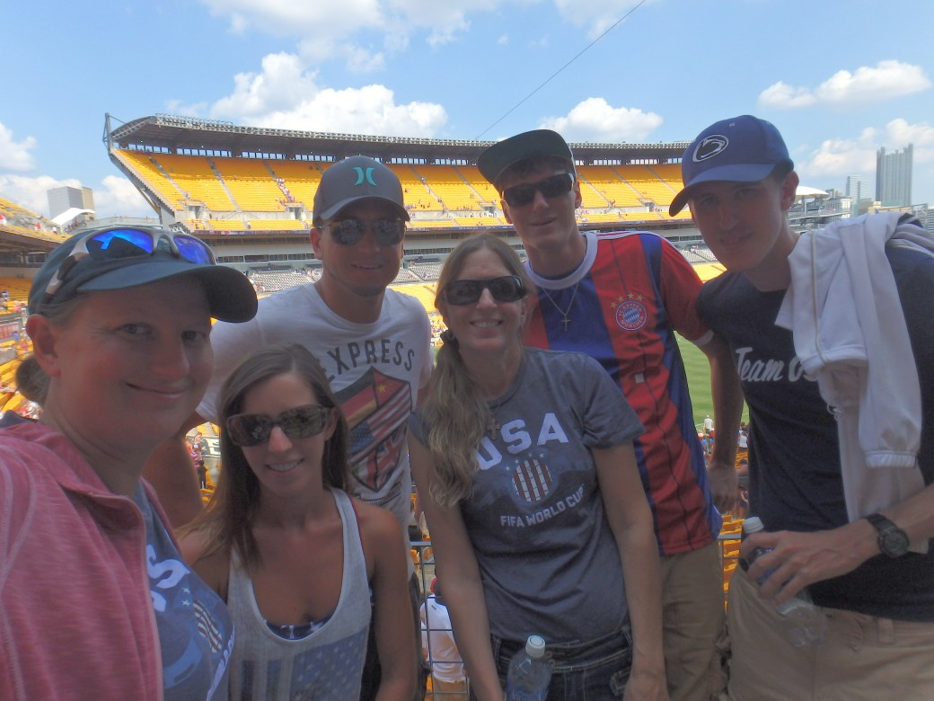 Group Shot; Heinz Field, Pittsburgh, PA; 2015