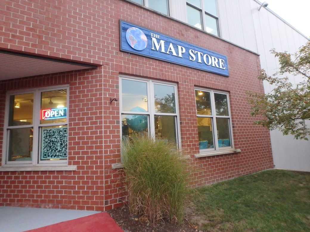 The Map Store; Yarmouth, ME; 2015