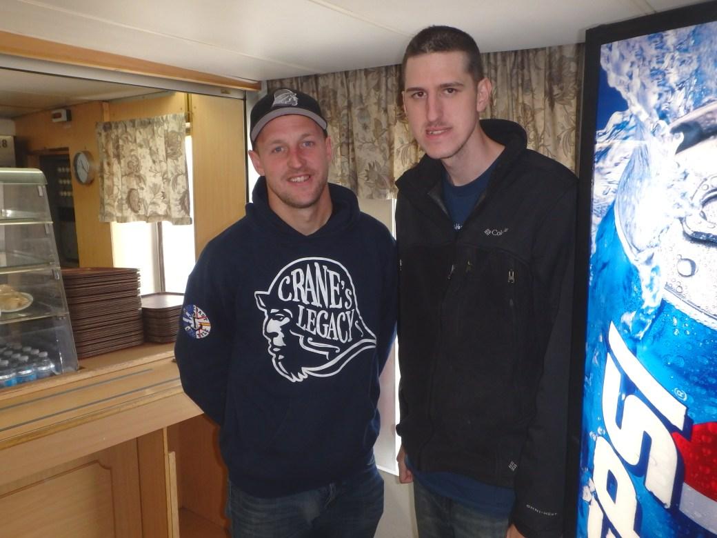 Rick Crane & Josh; Apollo Ferry, Canada; 2015