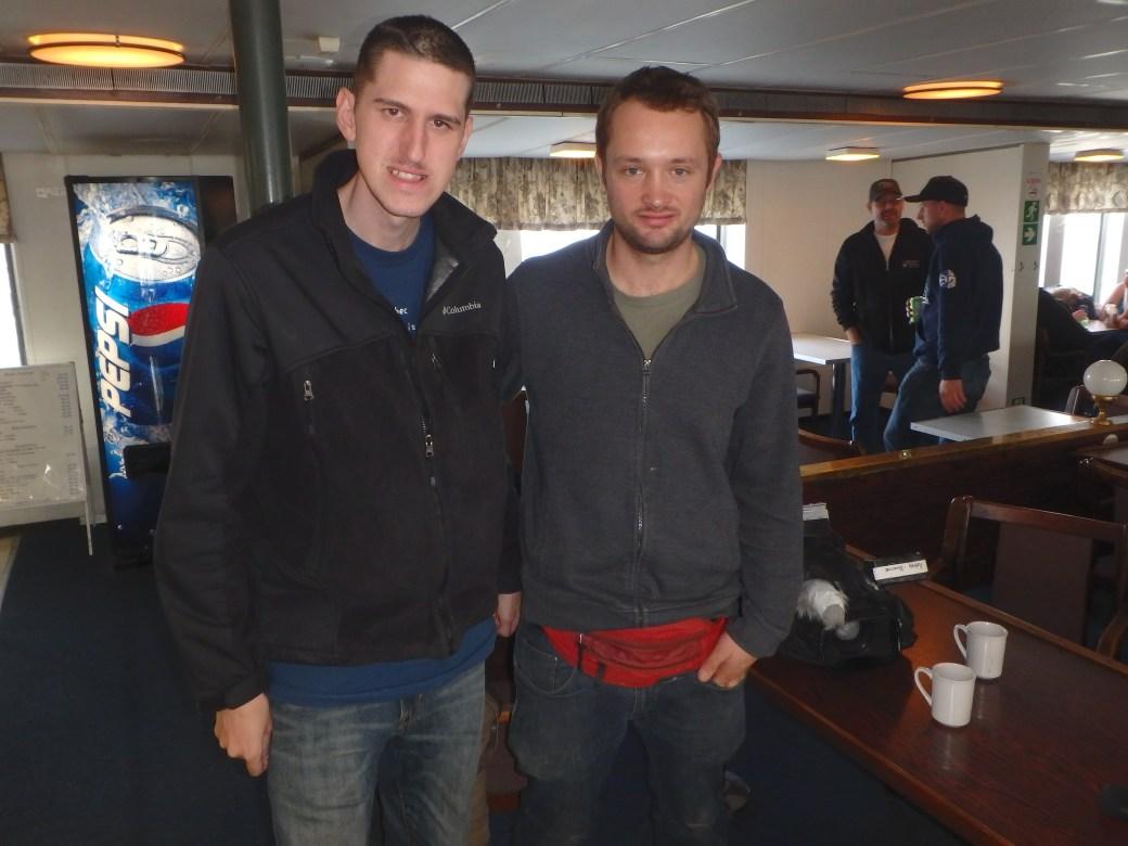 Josh & Tyson Hepburn; Apollo Ferry, Canada; 2015
