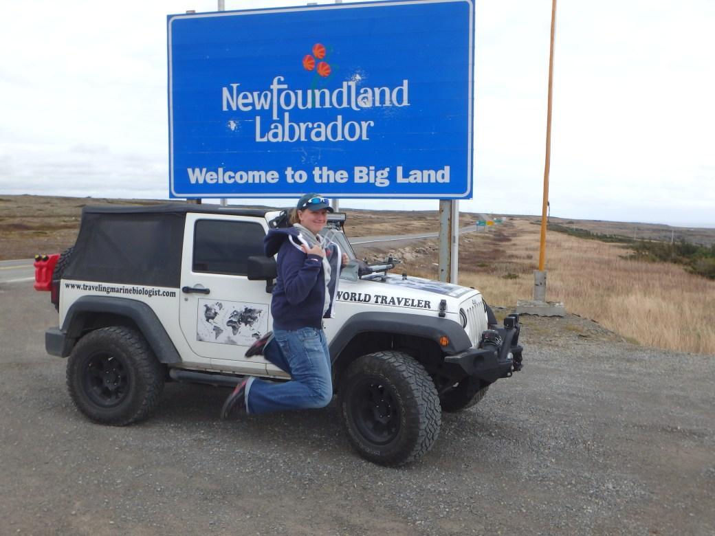 Signature Jumpin' Photograph; Labrador, Canada; 2015