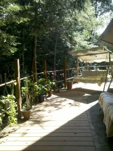 deck of Chalet