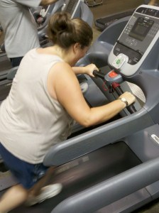 cold-walking the treadmill