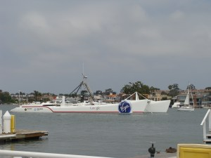 Google Boat Newport Bay