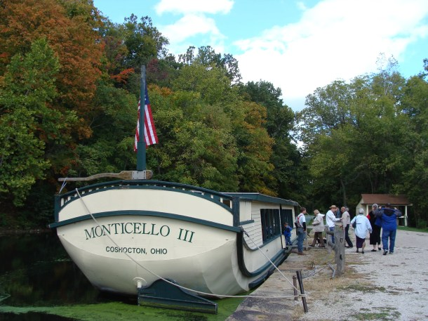 Monticello III Canal Boat Coshocton OH