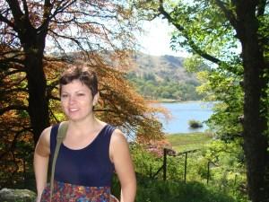 Leslie at Rydal Mount