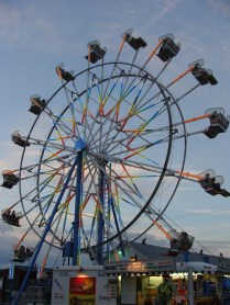 Ferris Wheel Coshocton County Fair