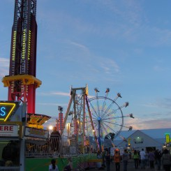Coshocton County Fair rides