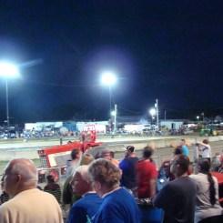 Spectators Coshocton County Fair