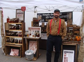 I was SO excited to meet Michael of Simple Gourmet Syrups at the festival. I bought his Shagbark Hickory Syrup at Medberry Marketplace a couple weeks ago and Kurt and I LOVE it! I am going to interview him and introduce you fully to his delicious products soon!