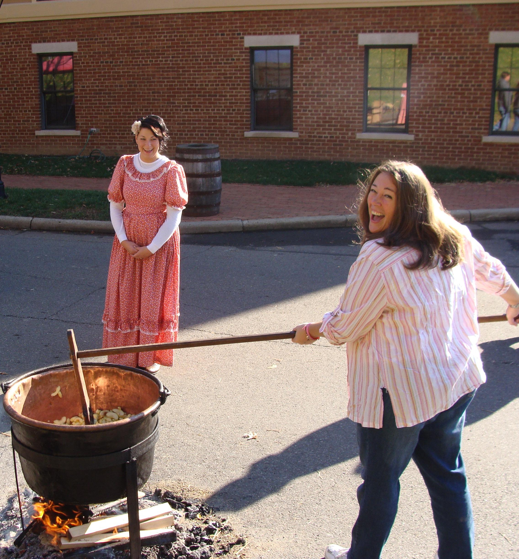Apple Butter Stirrin' Festival 2012 Roscoe Village Coshocton OH