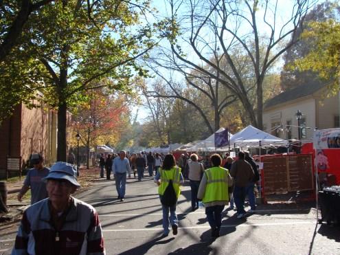 Apple Butter Stirring Festival 2012 Roscoe Village Coshocton Ohio crowd
